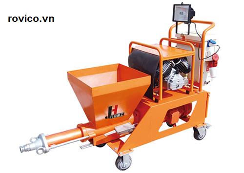 máy phun xi măng Rồng Việt cung cấp