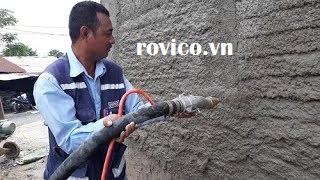 Nguyên nhân gì không nên bỏ qua máy phun xi măng Rồng Việt cung cấp